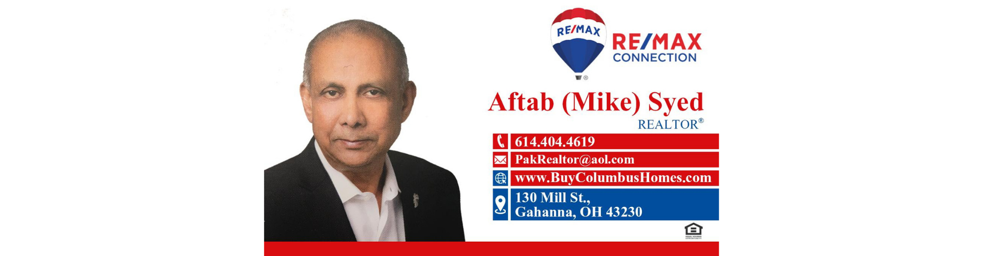 Aftab Syed Real Estate Broker RE/MAX